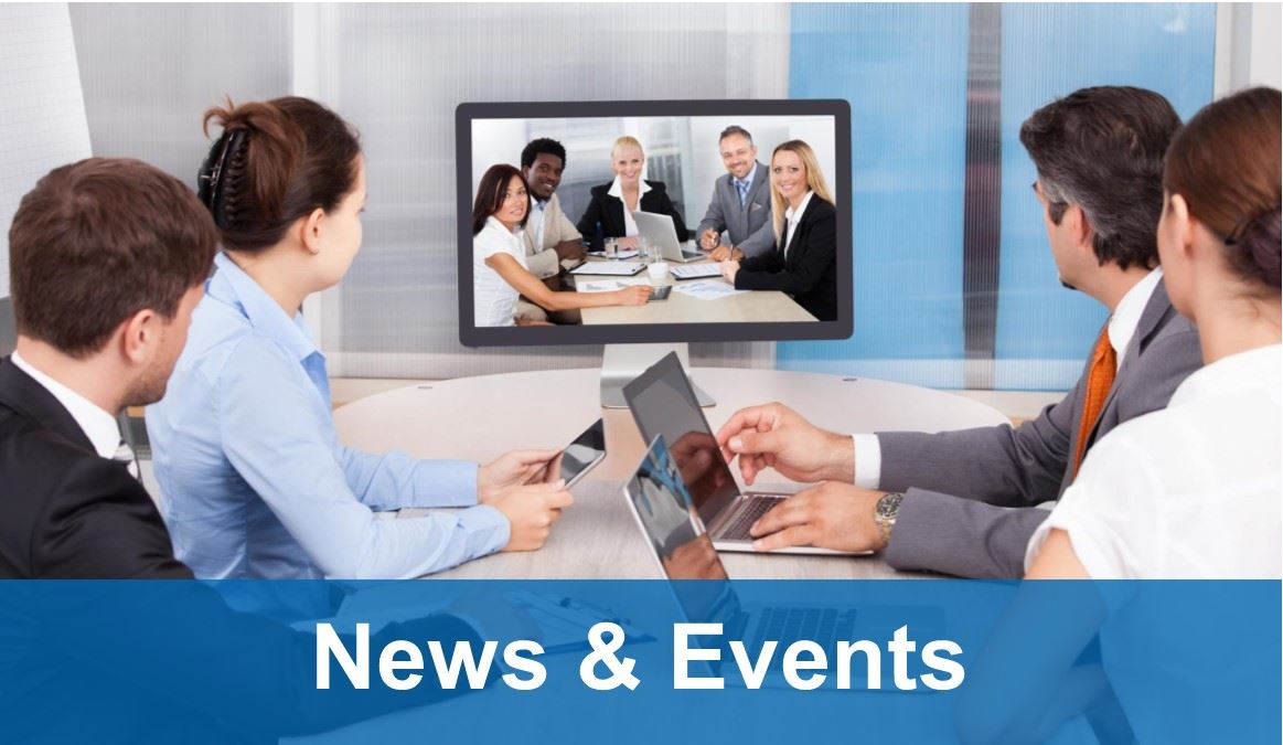 News & Events - people video conferencing